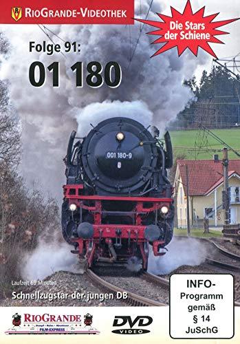 01 180 - Schnellzugstar der jungen DB - Die Stars der Schiene Folge 91 [Alemania] [DVD]