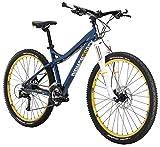 Diamondback Bicycles Lux Sport Women's Hardtail Mountain Bike, 15'/Small, Gloss Cyan