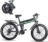 Bici de montaña eléctrica plegable para adultos 26 pulgadas E-bicicleta para adultos 48V 1000W de alta velocidad Ebike 12 8 Ah Removable Lithium Battery Travel Assisted Bike Bike Bike Bike Bike D
