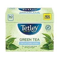 Tetley - Green Tea Decaf 50 Bags - 100g