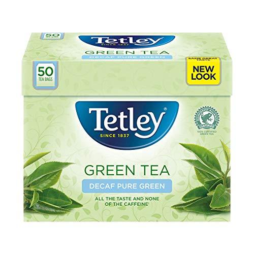 Tetley Green Tea decaf 50 Btl. 100g - entkoffeinierter Grüner Tee für jeden Genuss