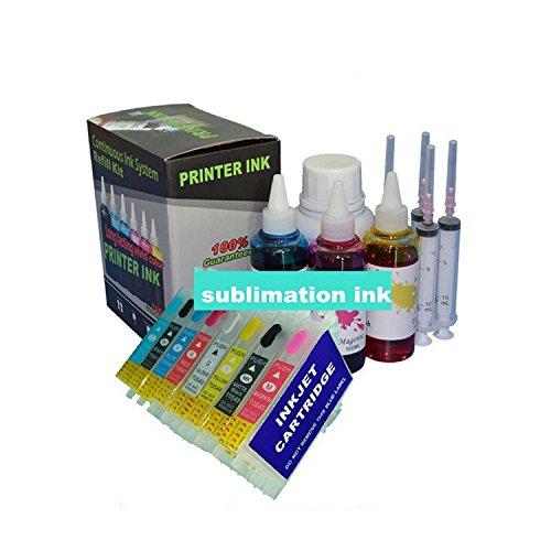 GOWE 8color cartridg 4000ML recambio tinta pigmento