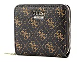 Guess Camy SLG Small Zip Around Brown Multi