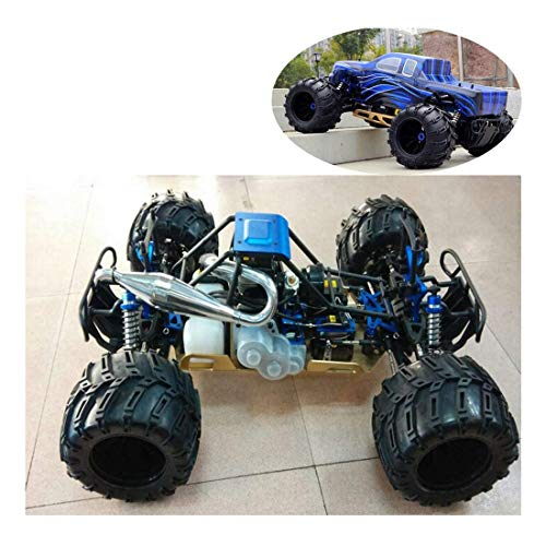 LOSA 1/5 Skala Benzin RC Auto für Erwachsene, 4WD RTR Buggy mit 32cc Hochleistungs-Ottomotor, Radio Controlled Monster Truck, Off-Road Spielfahrzeug