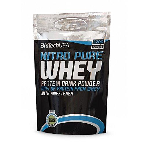 BioTech USA Nitro Pure Whey Gold 2200g Geschmack Cokos-Schoko