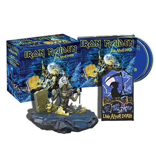 Iron Maiden Batch 5' -Live After Death (Deluxe Edition) (Figurine Box) (2 CD)