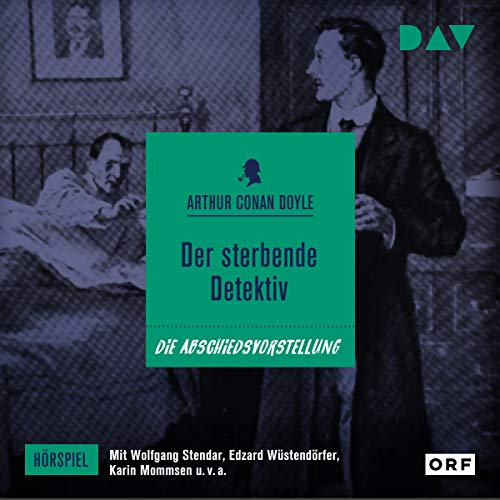 Der sterbende Detektiv audiobook cover art