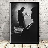 mohanshop Miles Davis Poster Art Von Blue Jazz Musikalbum