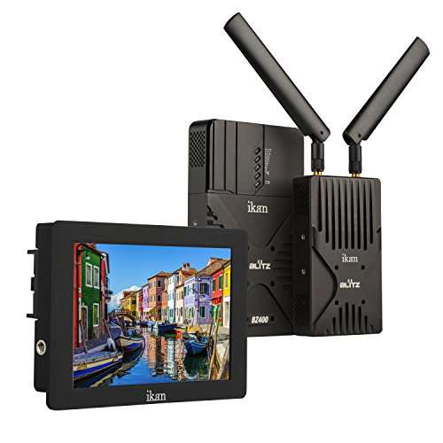 IKAN Blitz 400 Pro Wireless Video Kit mit S7H Monitor schwarz