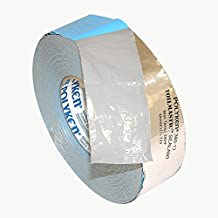 Polyken 360-17 Heavy Duty Foil/Butyl Rubber Tape, 17 mil Thick, 100' Length x 2