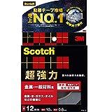 3M スコッチ 超強力両面テープ 金属用 一般材料用 12mmx10m PVG-12