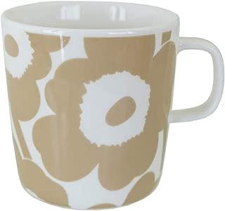 マリメッコ マグカップ コップ 400ml 食器 UNIKKO ウニッコ ホワイト×ベージュ 70402 180 [並行輸入品]