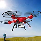 SYMA FPV Real-Time X8HG Drone - 6-Axis, Wi-Fi, FPV, Removable 8MP Camera, 1080p, Barometer Feature, 50m Range