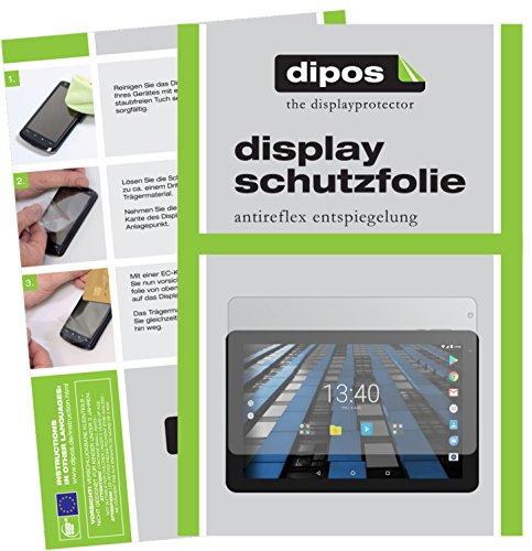 dipos I 2X Schutzfolie matt kompatibel mit Archos Diamond Tab Folie Bildschirmschutzfolie