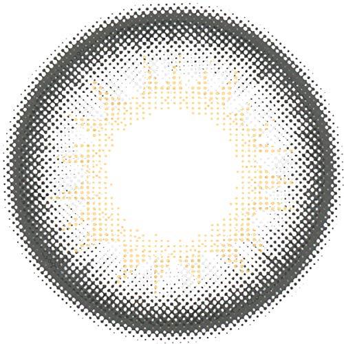 Matlens - Pro Trend Farbige Kontaktlinsen ohne Stärke TriColor Bella grau Big Eyes NPX-D01 2 Linsen 1 Kontaktlinsenbehälter 1 Pflegemittel 50ml