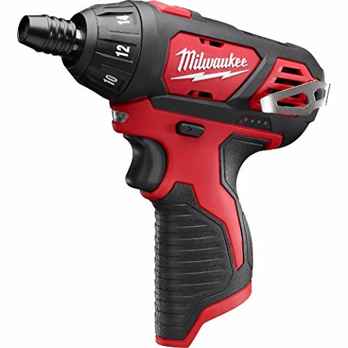 Milwaukee 2401-20 M12 12-Volt Lithium-Ion Cordless 1/4 in. Hex Screwdriver (Tool-Only) (Renewed)