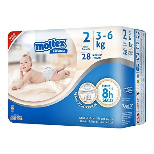 Moltex Pañal Moltex Premium T-2 3-6K 2-1 unidad