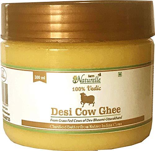 Desi Cow Ghee - 100% Pure From A2 Milk -300 ML (10.14 OZ)