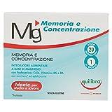 Equilibra Integratore Alimentare Magnesio Memoria e Concentrazione -...