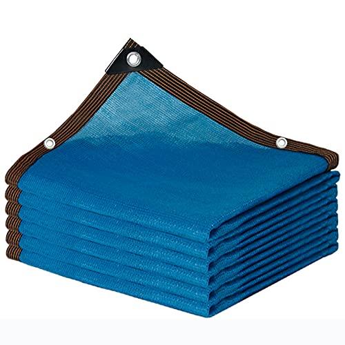 Telas para Toldos Sombreadora Malla De Polietileno Azul, 85% Protección UV, Toldo Vela Rectangular para Invernadero De Jardín, Toldo para Césped para Piscina Exterior (Size : 4X6M)