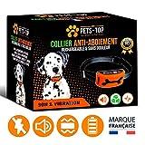 One PETS-TOP Collier Anti Aboiement Chien Automatique Rechargeable Etanche IP65...