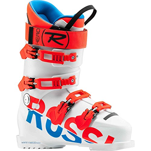 Rossignol heren skischoenen Hero World Cup 110 medium wit – maat 46 – wit