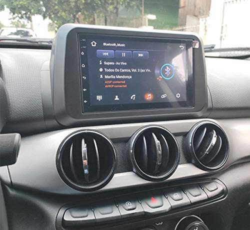 Central Multimídia Universal Mp5 Ht-3019Plus Bt/Usb/Sd Card/Aux/Touch/Bluetooth/Espelhamento, H-Tech