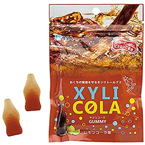 キシリトールグミ キシリコーラ レモンコーラ味 1袋
