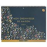(en francés) Boxclever Press 'Mon Organiseur de Maison' Calendario 2020 2021 pared. Calendario 2020 2021 de año académico con mucho espacio. Planificador mensual empieza septiembre'20 - diciembre'21