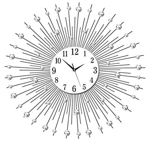 lxc Moderna Sala De Estar Reloj De Pared Arte Creativo Moda Mudo Reloj Mesa Decoración del Hogar 60 * 60 Cm
