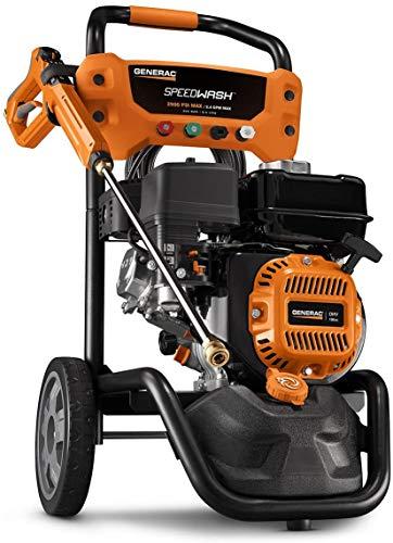 Generac 7899 GPW 2900PSI Power Washer SPEEDW, Black & Orange