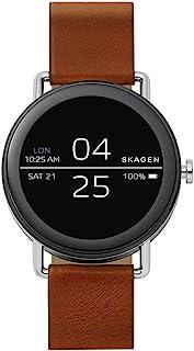 SKAGEN Men's SKT5003 Year-Round Smart Quartz Brown Band Watch