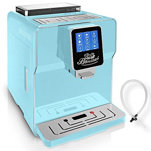 ☆ONE TOUCH☆ Kaffeevollautomat✔ 1 Thermoglas Gratis✔ CAFE BONITAS✔ Newstar neues Modell Cloudy✔ Touchscreen✔ Timer✔ 19 Bar✔ Kaffeeautomat✔ Latte Macchiato✔ Kaffee✔ Espresso✔ Cappuccino✔ heißes Wasser✔ Milchschaum✔