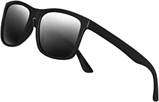 Polarized Sunglasses for Men TR90 Unbreakable Mens...