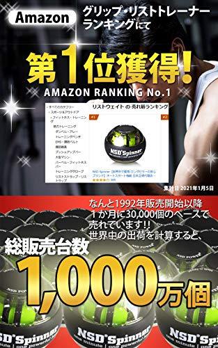 【世界10ヶ国以上で販売中】信頼のNSDSpinnerプロ仕様重量TITANシリーズPB-888日本正規代理店商品握力腕の筋トレ腕力トレーニング(カウンター付、オート式)