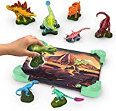 Tacto Dino by PlayShifu - Interactive Dinosaur Figurines Toy   Logic Puzzles & Learning Games for Kids   STEM Gift for Boys & Girls Ages 4-8 Years (app-Based, Tablet not Included)