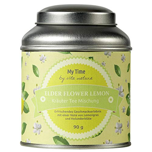 My Time Elderflower Lemon Früchtetee, 1er Pack (1 x 90 g)