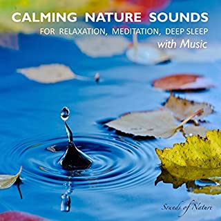Calming Nature Sounds With Music audiobook cover art