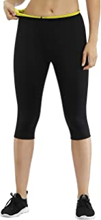 MASS21 Womens Thighs Fat Burner Workout Sauna Pants Neoprene Sweat Pants for Weight Loss