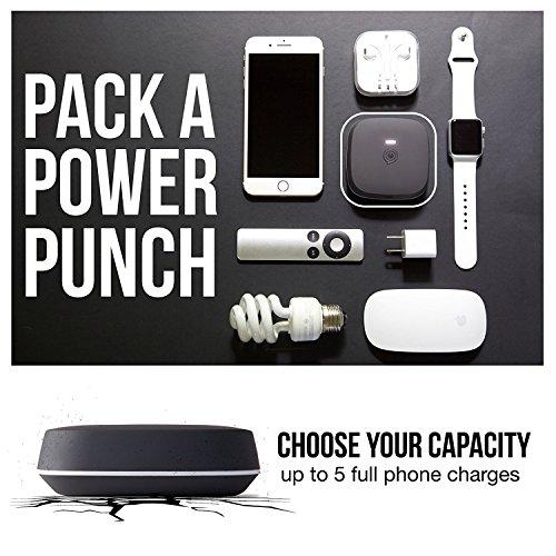 ZENS Support Téléphone/Base Chargeur Rapide sans Fil 10 W - Noir