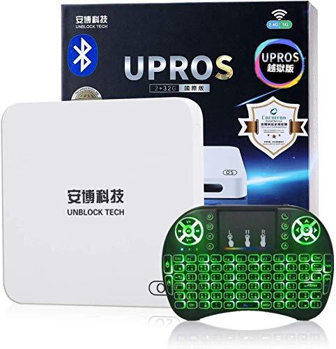 Latest Version Unblock Tech COCOTRON UBOX Gen7 UPROS i9 2G RAM+32G ROM 802.11ac 5G WiFi US Licensed...