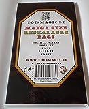 docsmagic.de 100 Resealable Manga Bags 5-9/10'x 8-6/10'+ 1-1/2' Flap- 2 Mil - Bustine Protettive Richiudibile