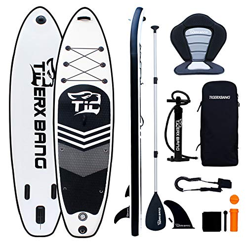 Tigerxbang SUP Board 10'6' Stand Up Paddle Board | 320x80x15cm | for Adults/Kids| ISUP Surfing Complete Kit