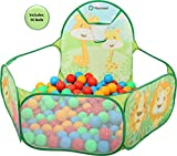 Playhood Zoo Ball Pool for Kids | with 50 Colourful Balls |