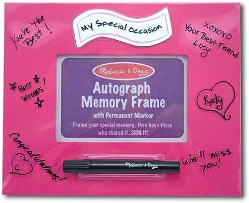 Melissa & Doug Rosa Autograph Memory Frame (Ged tnis)
