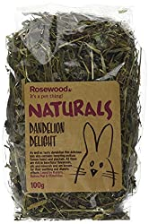a blend of 40% dandelion, 30% melissa and 30% plantain can be fed daily to enrich your pets diet Ideal added daily to your pet's main diet ideal for rabbits, guinea pigs, chinchillas and degus made only from 100% natural ingredients