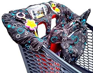 30x23x5cm Protege Chariot B/éb/é R/églable Supermarch/é Shopping Trolley Prot/ège Si/ège avec Sac De T/él/éphone Portable Transparent Couverture Coussin De Chaise Haute pour B/éb/é Et Enfant