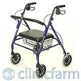 'Andador plegable ligero Rollator para discapacitados andado