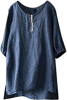 766339780b2 Coco-Z Women Fashion Summer Casual Short Sleeve Button Down O-Neck Solid  Short