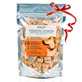 All Natural Freeze Dried Salmon Dog Treats – With Omega 3 and Omega 6 Fish Oil – By IM K9 –...